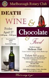 Friday April 27th, Marlborough Mass