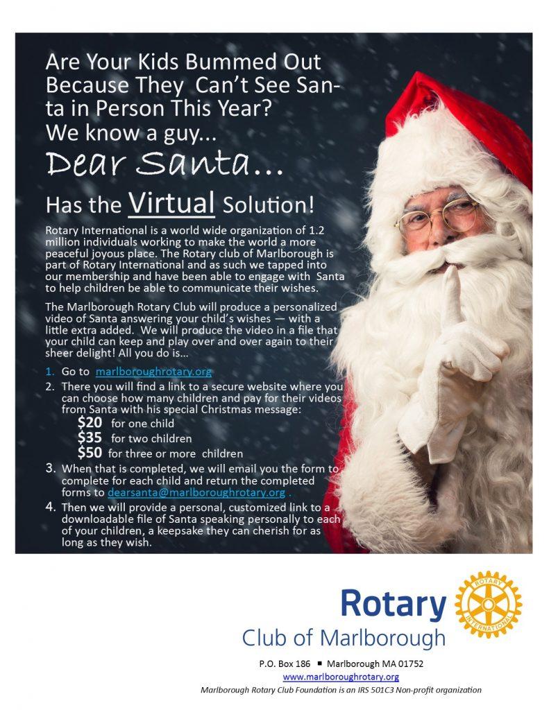 Dear Santa! - Rotary Club